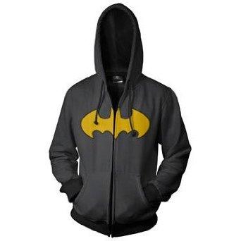 Original Batman Logo Hoodie back