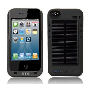 iPhone 4 &#038; 4s Solar Powered Charger